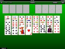 klondike solitaire green felt